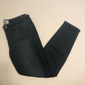 Paige Verdugo Ankle Skinny Jeans Dark Wash - 32